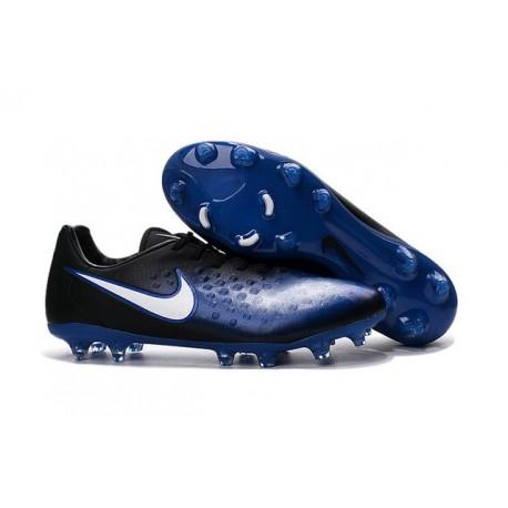 Nike Magista Opus FG ACC Cheap Football Boot Black Blue White