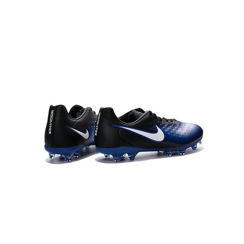 taille 40 8ff6c ea1d9 Nike Magista Opus FG ACC Cheap Football Boot Black Blue White