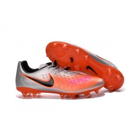 Nike Magista Opus FG ACC Cheap Football Boot Orange Silver Black