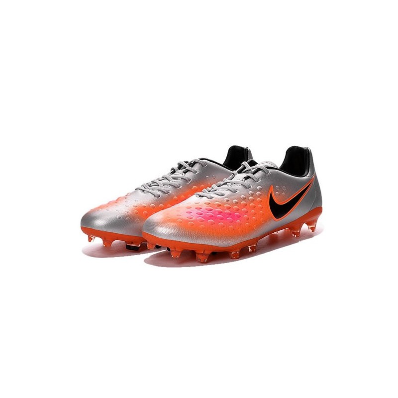 c77638c959ba Nike Magista Opus FG ACC Cheap Football Boot Orange Silver Black