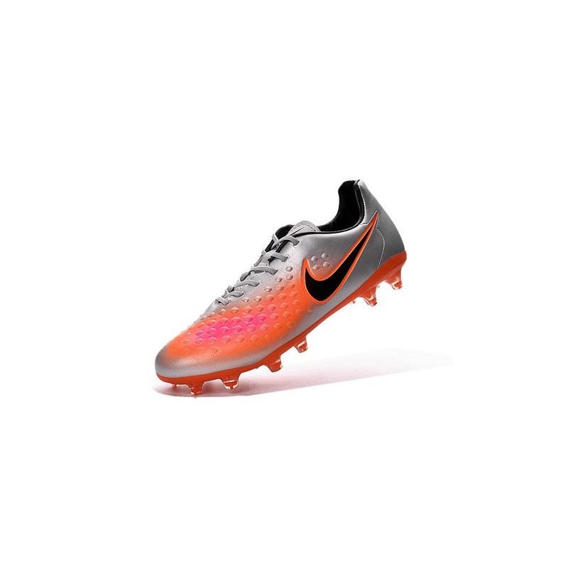 e5fd0d2d8 Nike Magista Opus FG ACC Cheap Football Boot Orange Silver Black