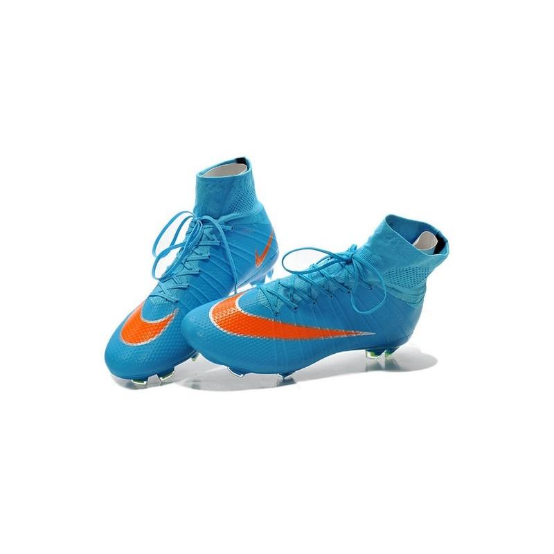V súperfly Mercurial Nike DF naranja 408) azul(831940 Color