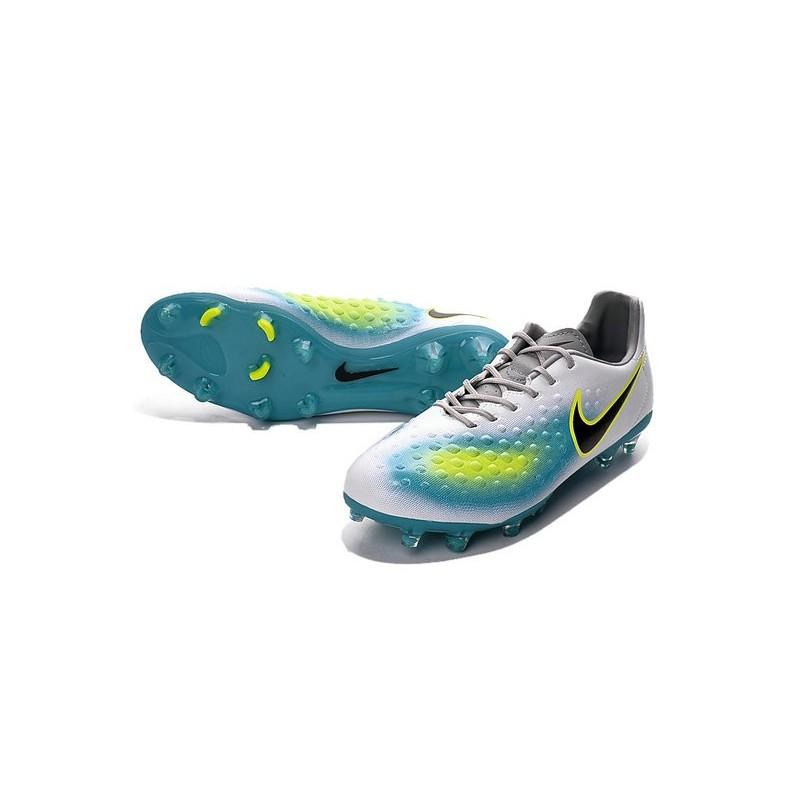 adf12e0d0 Nike Magista Opus FG ACC Cheap Football Boot White Blue Black