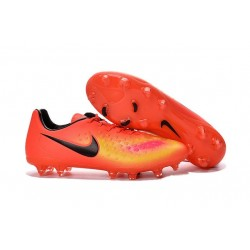 Nike Magista Opus FG ACC Cheap Football Boot Orange Yellow Black