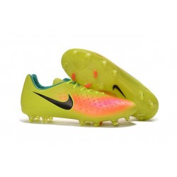 Nike Magista Opus FG ACC Cheap Football Boot Volt Orange Black