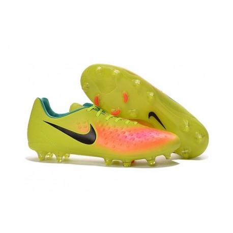 Nike Magista Opus FG ACC Cheap Football Boot Volt Orange Black