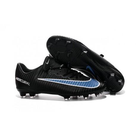 new styles 6f9f4 ee873 New Nike Mercurial Vapor XI FG Men Soccer Cleat Black Blue