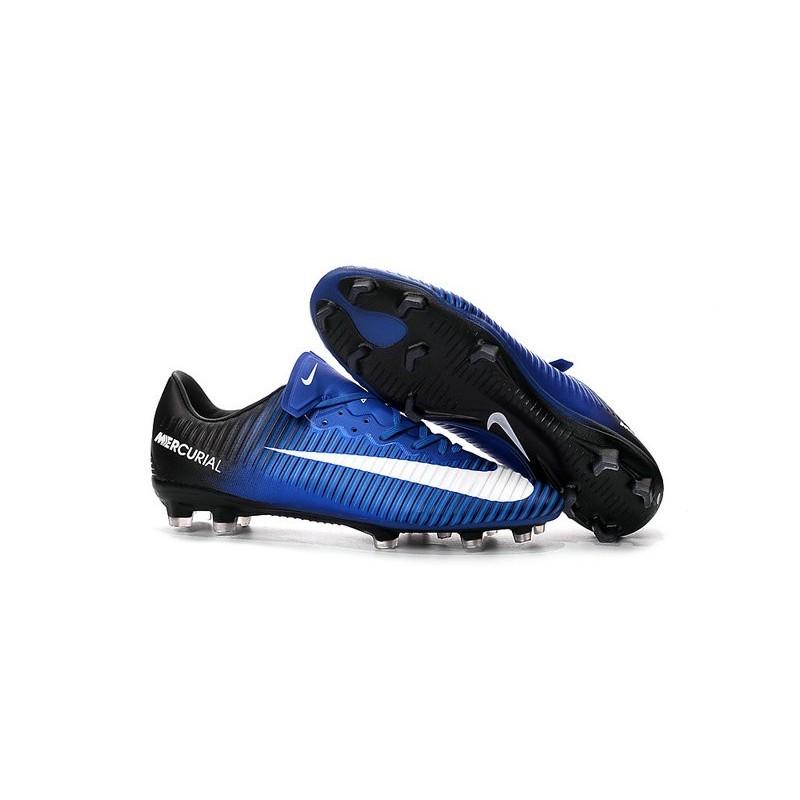 info for edfc9 86602 New Nike Mercurial Vapor XI FG Men Soccer Cleat Blue White Black