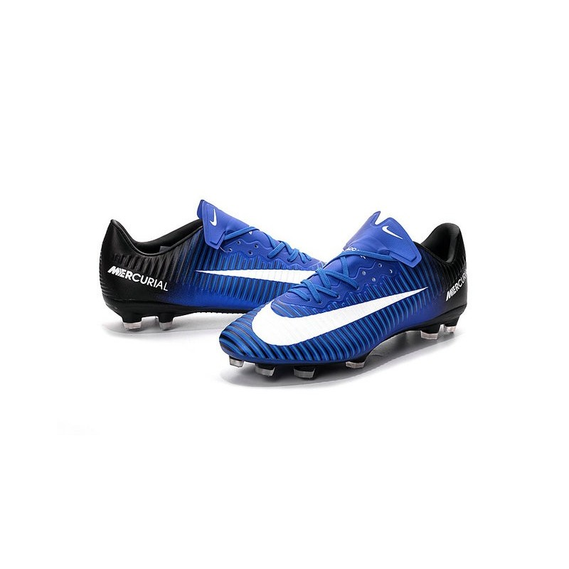 4a042de66e4 New Nike Mercurial Vapor XI FG Men Soccer Cleat Blue White Black