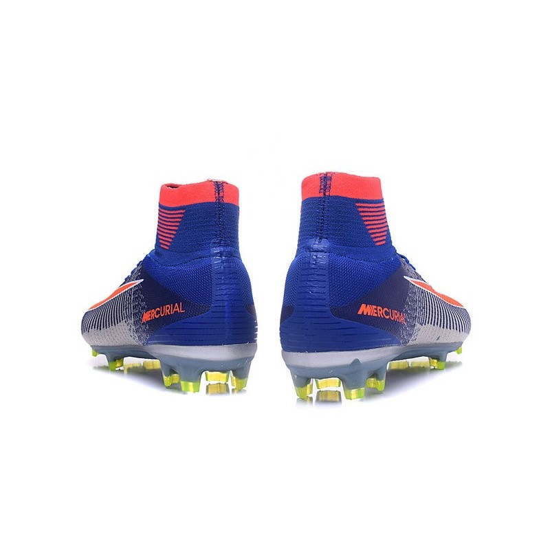 Nike Mercurial Superfly V ACC FG Spark Brilliance 2016 Blue White Orange f284f6ef581e5