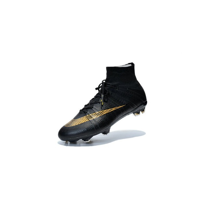 premium selection 24421 48456 Cristiano Ronaldo Nike Mercurial Superfly 4 FG Soccer Boots Black Gold
