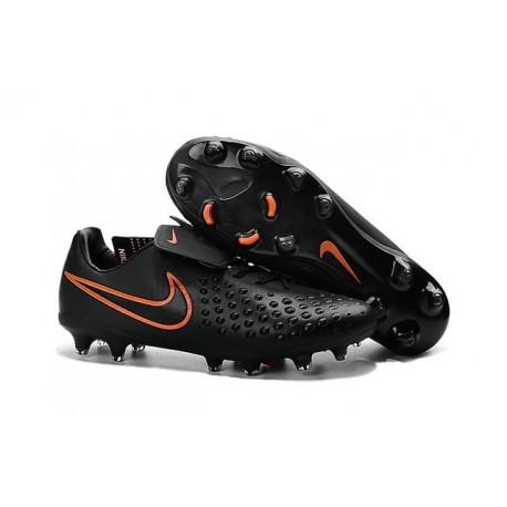 New 2016 Nike Magista Opus II FG ACC Soccer Boots Black Crimson