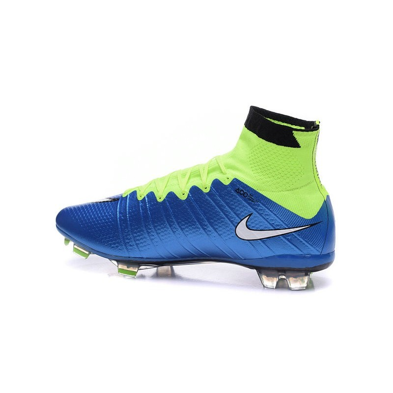 a9c3cbc2f40 Cristiano Ronaldo Nike Mercurial Superfly 4 FG Soccer Boots Blue White Volt