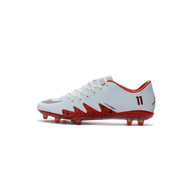New Nike Hypervenom Phinish Neymar X Jordan Football Boots White Red