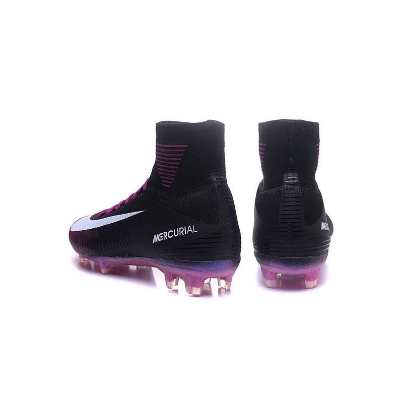 hot sales 78377 d15f2 Nike Mercurial Superfly 5 FG News Football Cleats Purple ...