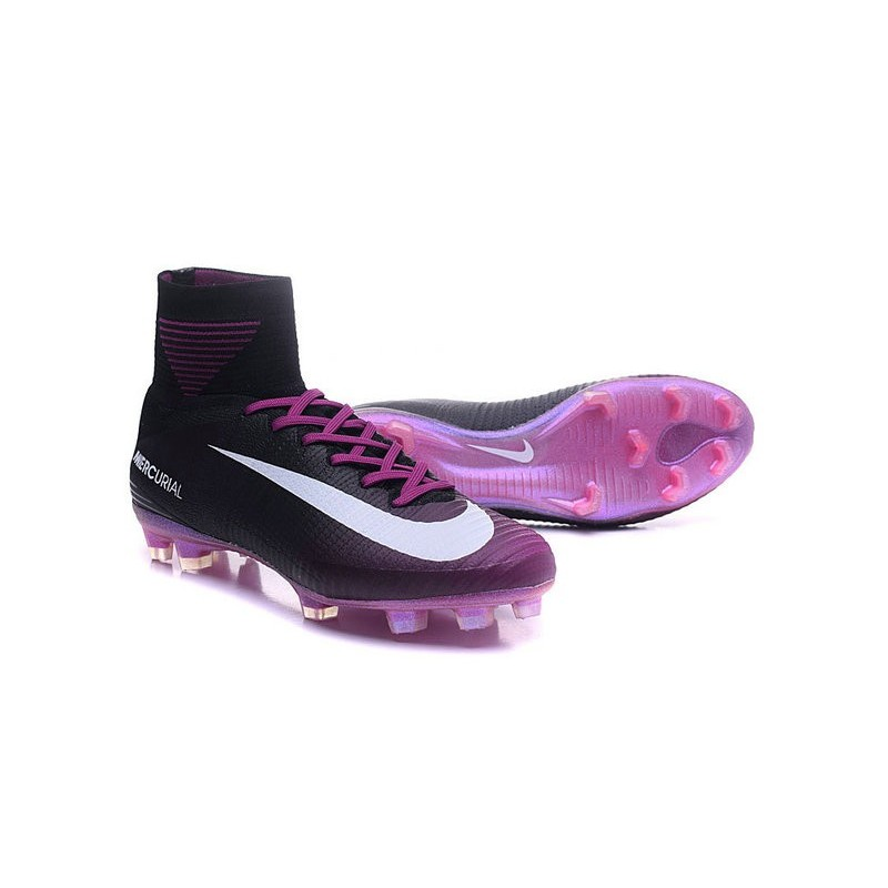 5345c35b7 Nike Mercurial Superfly 5 FG News Football Cleats Purple Black White  Maximize. Previous. Next
