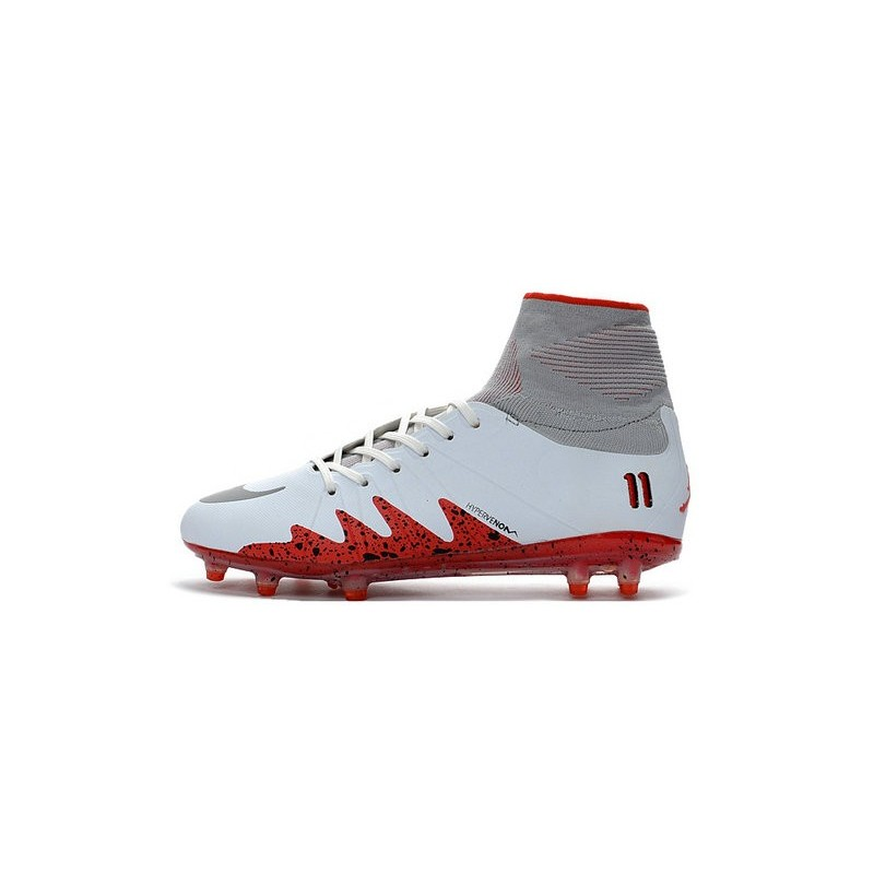 c57f807c0eec76 New Nike Hypervenom Phantom II Neymar x Jordan NJR FG White Red Maximize.  Previous. Next