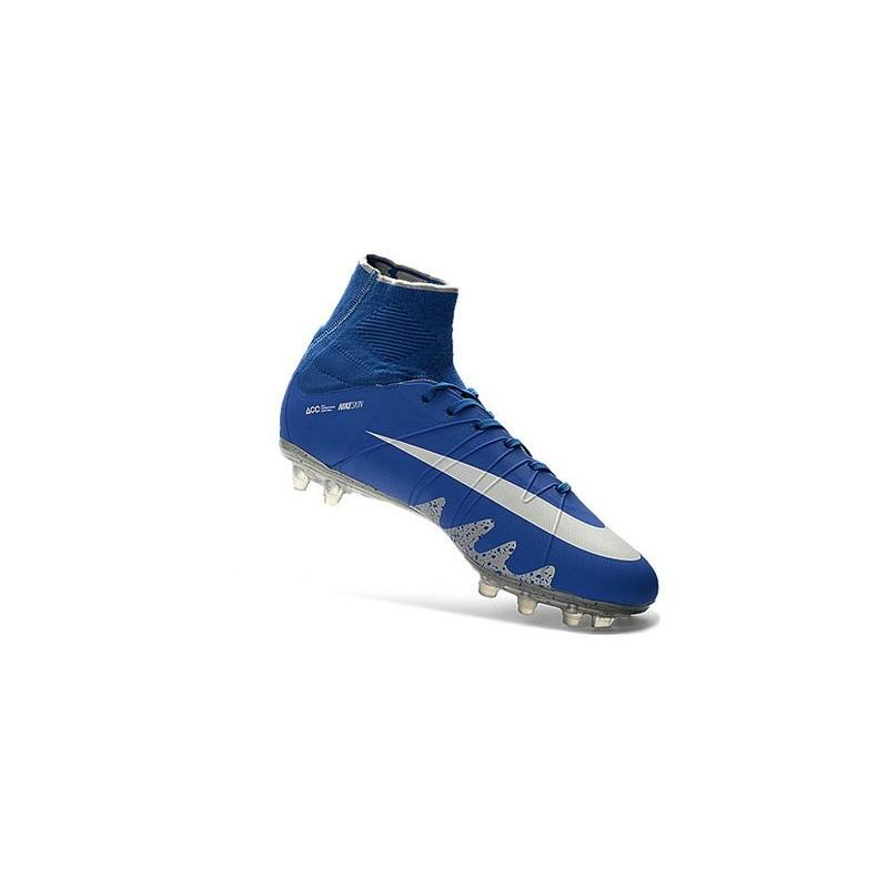 c896d8b4f New Nike Hypervenom Phantom II Neymar x Jordan NJR FG Blue Silver