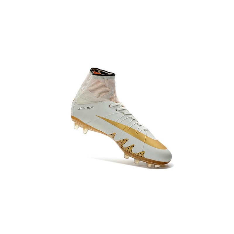d1b0d9783 New Nike Hypervenom Phantom II Neymar x Jordan NJR FG White Gold