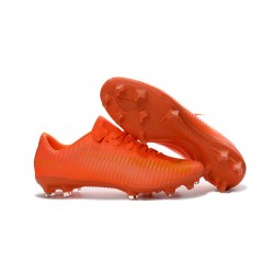 Nike Mercurial Vapor 11 FG Firm Ground Football Shoes Orange