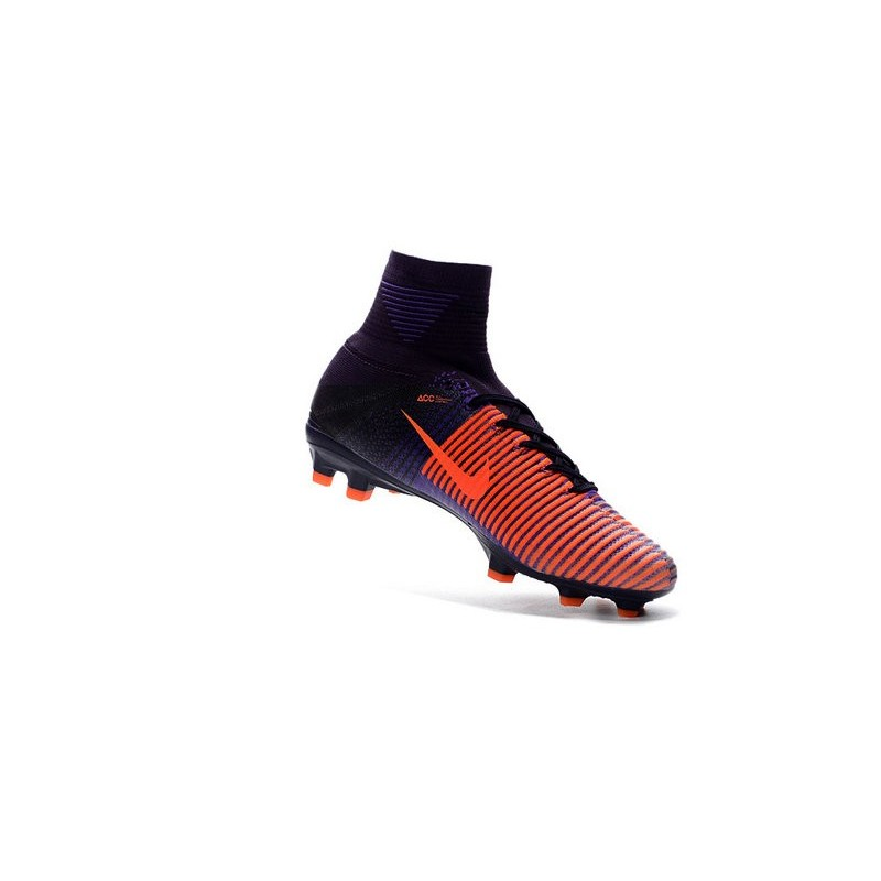 brand new bfc35 c2e01 Nike Mercurial Superfly V FG Orange Men s Football Shoes