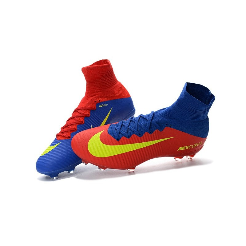 886347545 ... discount nike mercurial superfly 5 fg news football cleats blue red  yellow d470e bb544