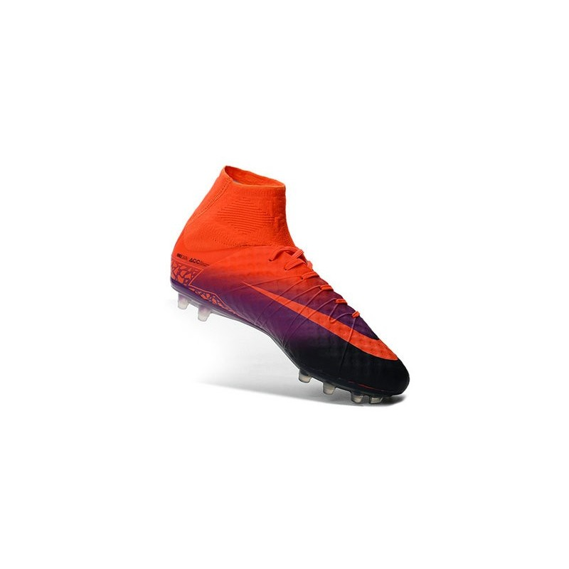 195ddf8ee Nike Hypervenom Phantom 2 FG New Firm Ground Cleats Crimson Obsidian Purple