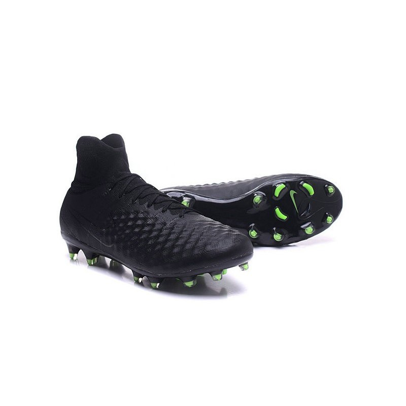 e335b47b90d7 ... official nike magista obra 2 fg high top football cleat full black  maximize. previous.