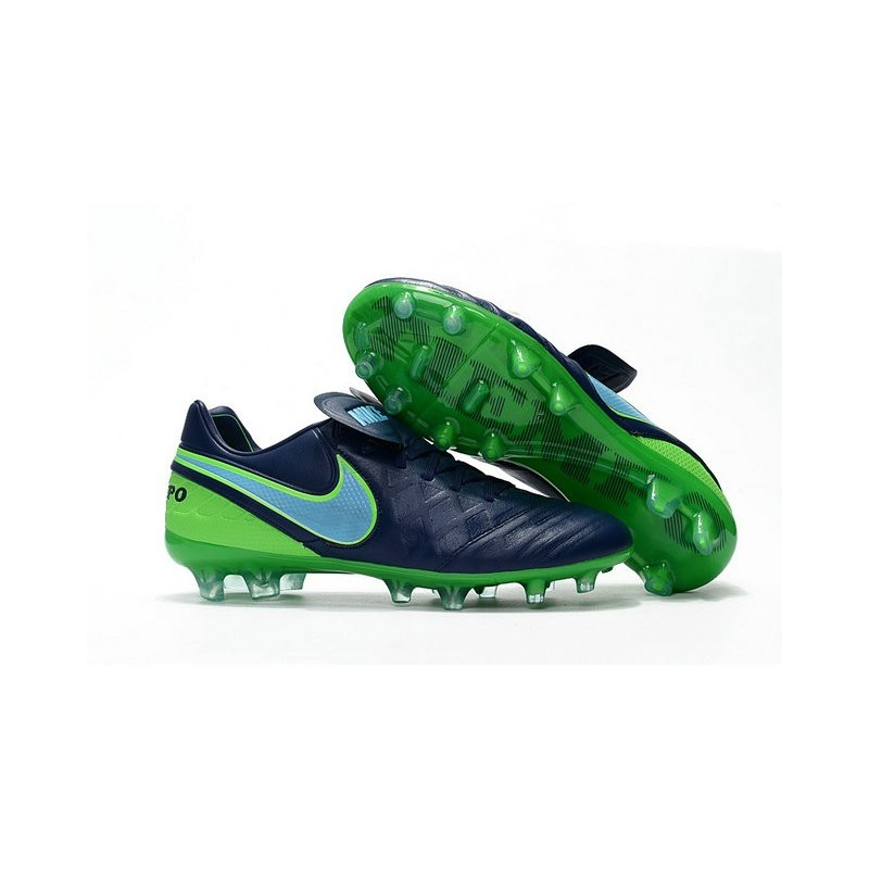 new products 5034e 23098 Nike Tiempo Legend 6 ACC FG Kangaroo Leather Cleats Black Green