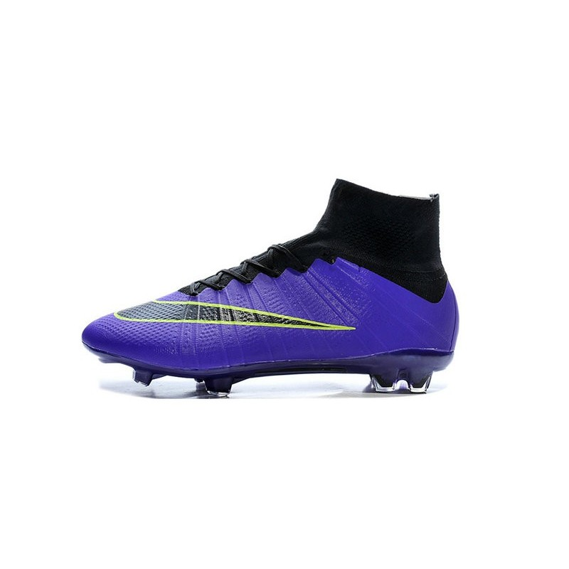 aa2f782647b New Nike Mercurial Superfly CR7 FG Firm Ground Cleats Purple Black