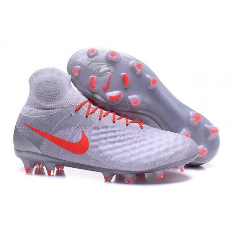 New Nike Magista Obra II FG ACC Soccer Boot White Red