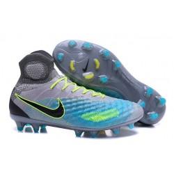 New Nike Magista Obra II FG ACC Soccer Boot Grey Blue