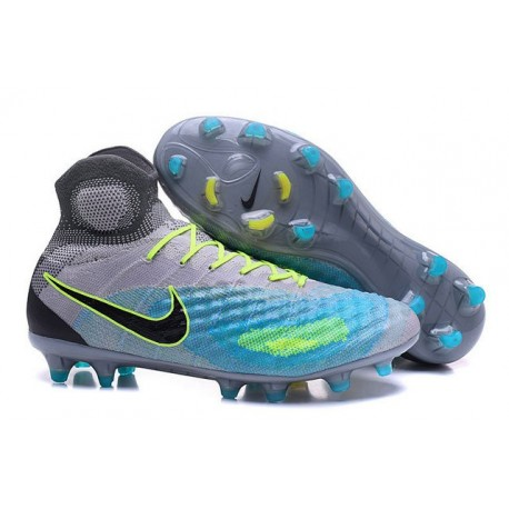 best loved c0eb8 041c3 New Nike Magista Obra II FG ACC Soccer Boot Grey Blue