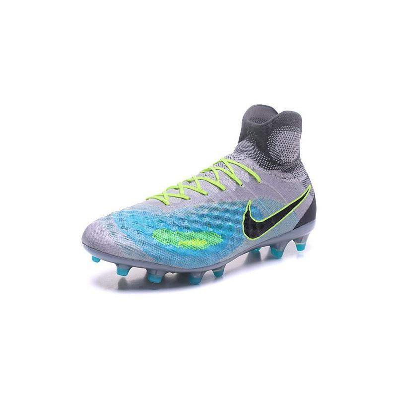 f0feca209573 New Nike Magista Obra II FG ACC Soccer Boot Grey Blue