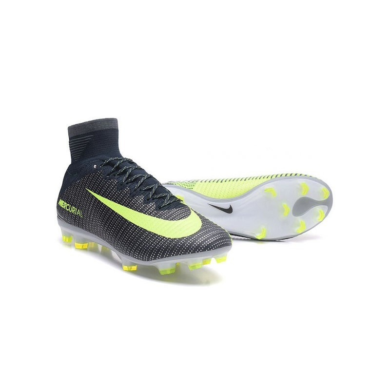c06aaacf1 Nike Mercurial Superfly V CR7 FG Firm Ground Soccer Shoes Green Volt Black  Maximize. Previous. Next