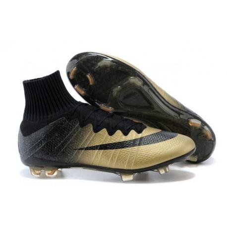 huge discount 3f902 bd7e7 Nike Mercurial Superfly CR7 FG Rare Gold Ronaldos Ballon Dor Boots Gold  Black
