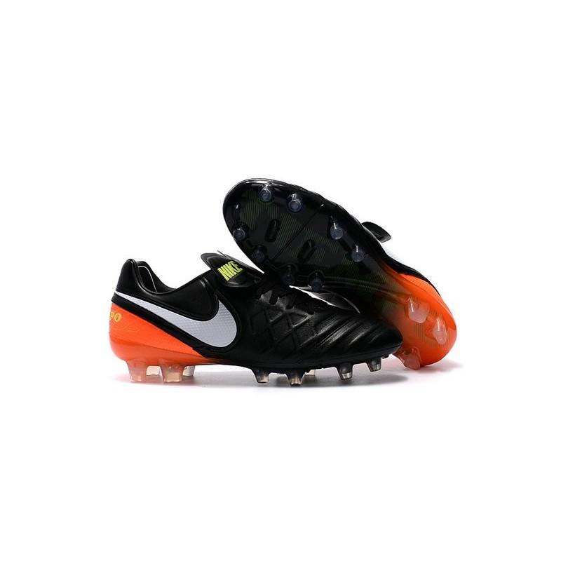 Nike Tiempo Legend VI ACC FG K leather Football Boots Black