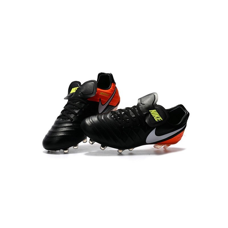 new concept 6f4ba f53ec Nike Tiempo Legend VI ACC FG K-leather Football Boots Black ...