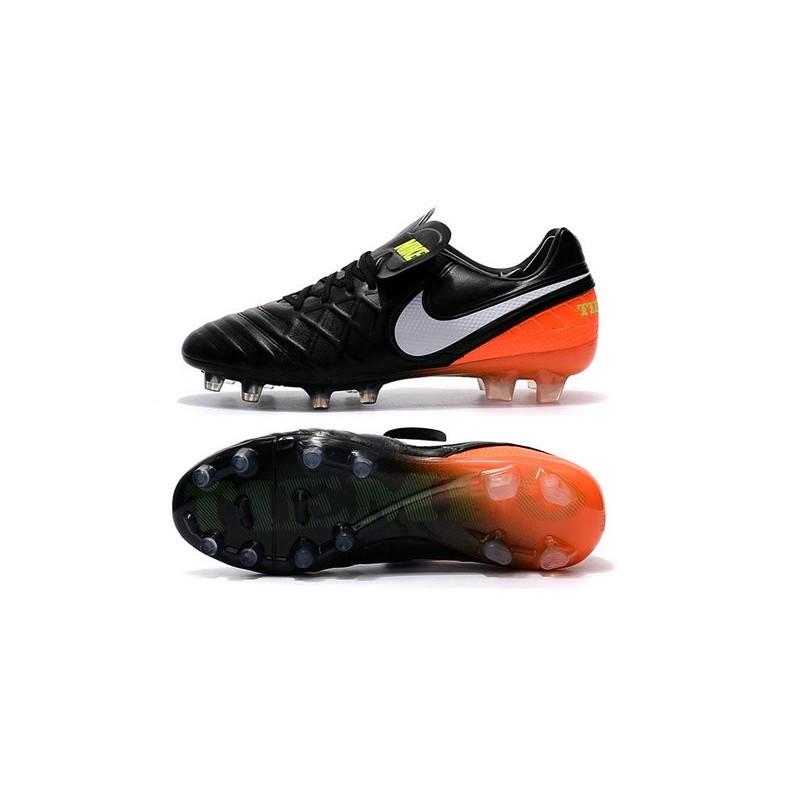 new concept 2209f b37e4 Nike Tiempo Legend VI ACC FG K-leather Football Boots Black ...