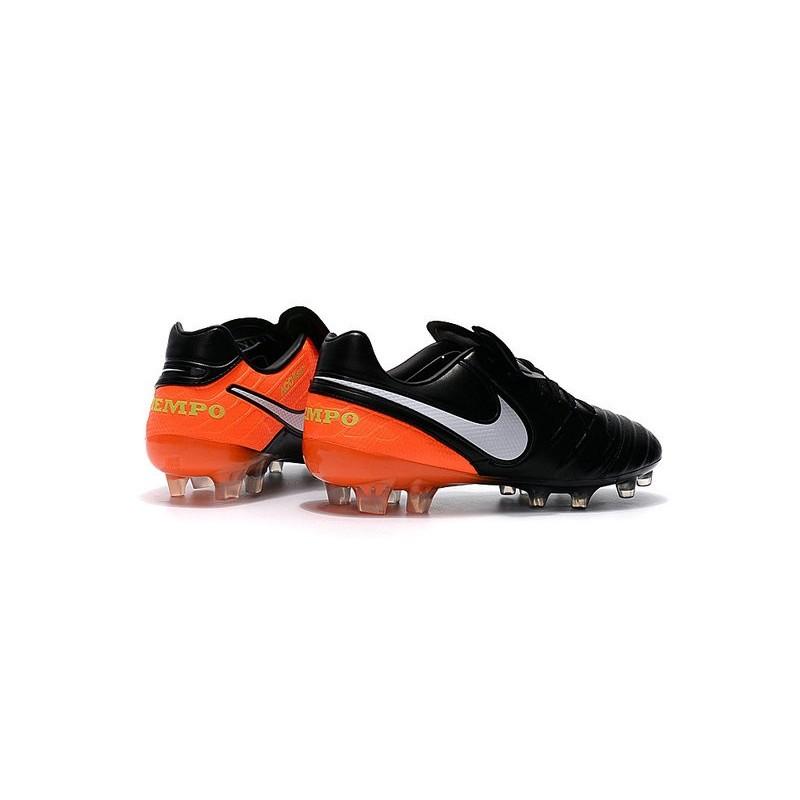 a751eb2d1 ... get nike tiempo legend vi acc fg k leather football boots black orange  white 269f4 23dc0