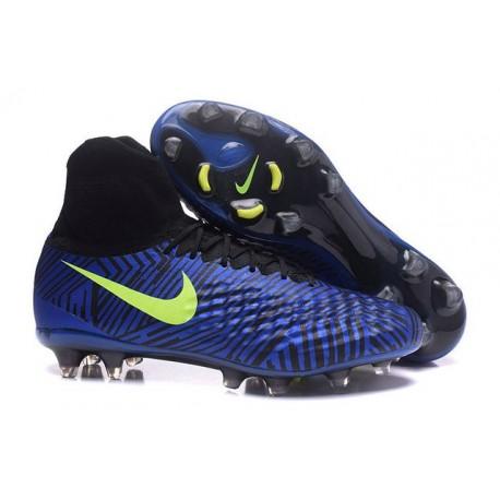 New Nike Magista Obra II FG ACC Soccer Boot Royal Blue Black