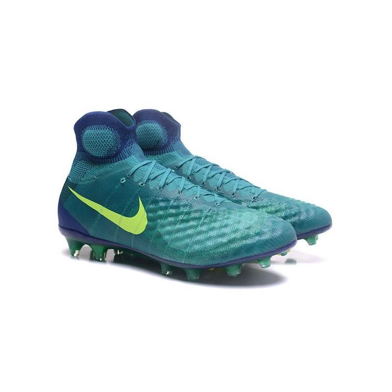 new product cb841 2ef06 Nike Magista Obra 2 FG Men s Football Shoes Jade Volt