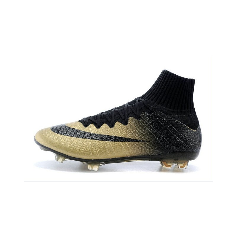 free shipping f666c 6ca8a closeout nike mercurial superfly cr7 rare oro cleats 0896f af983
