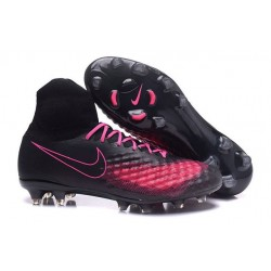 Nike Magista Obra 2 FG Men's Football Shoes Black Pink