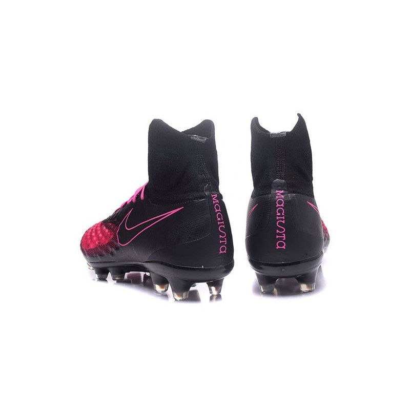 14e42ad30198 Nike Magista Obra 2 FG Men's Football Shoes Black Pink