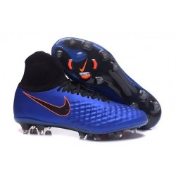 Nike Magista Obra 2 FG Men's Football Shoes Royal Blue Black
