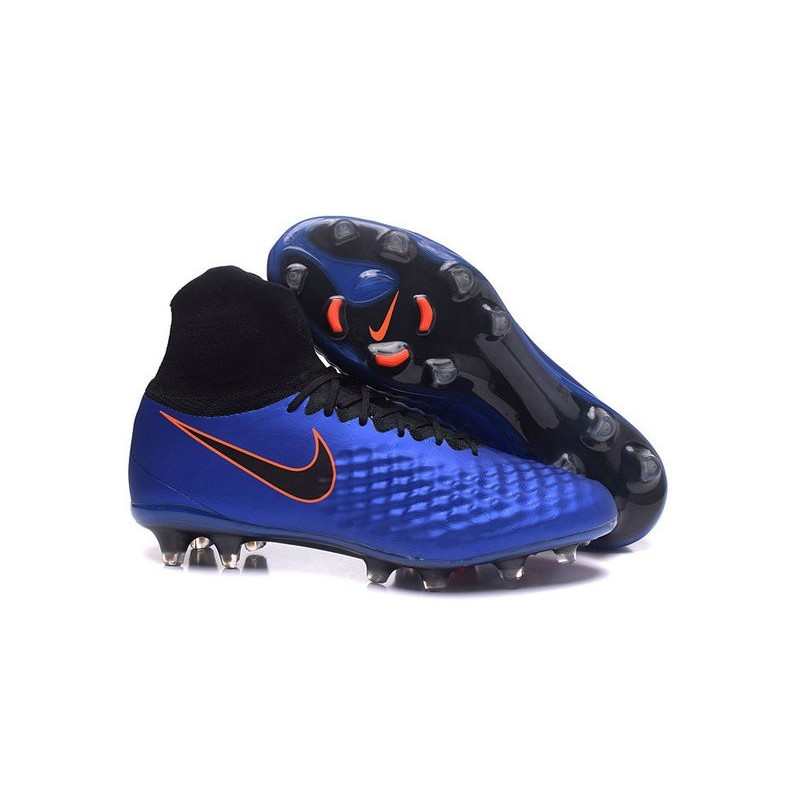 327434c5424 Nike Magista Obra 2 FG Men s Football Shoes Royal Blue Black