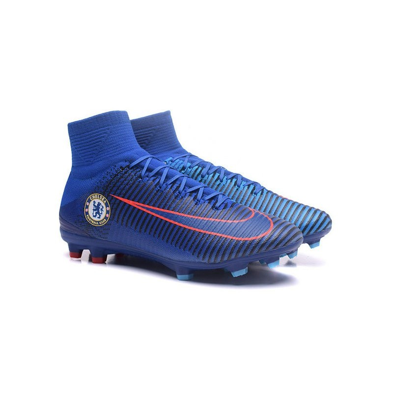 Nike Mercurial Superfly V FG Firm Ground Soccer Shoes Chelsea FC Maximize  Previous Next