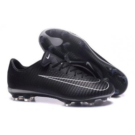 New 2017 Nike Mercurial Vapor XI ACC FG Soccer Boot Black White