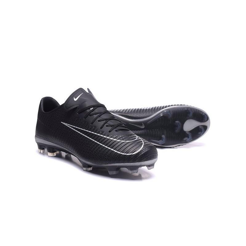 New 2017 Nike Mercurial Vapor XI ACC FG Soccer Boot Black White 7a54419428e13